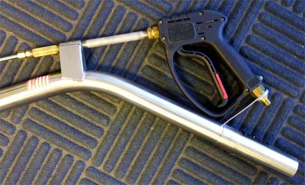 Pmf 12 Titanium Carpet Cleaning Wand 4 Jet 800 Psi Teflon