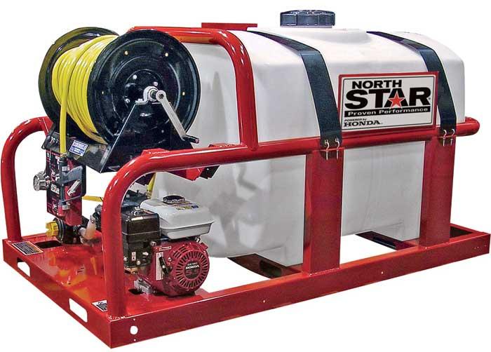 NorthStar Horizontal Log Splitter with Log Lift — 37-Ton, 389cc Honda GX390 Engine