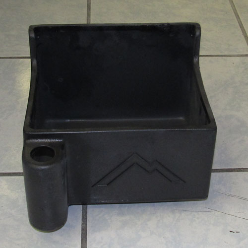 """Mount to vans. Perfect for securely holding your 2 qt., 5 qt., and 7 qt. bottles.  WarrantyLimited lifetime warranty BodyRoto-molded Polyethylene Weight3 lbs. Shipping Weight4 lbs. Dimensions9 1/4"""" x 8 3/4"""" x 7 3/4"""" Shipping Dimensions11"""" x 11"""" x 9"""""""