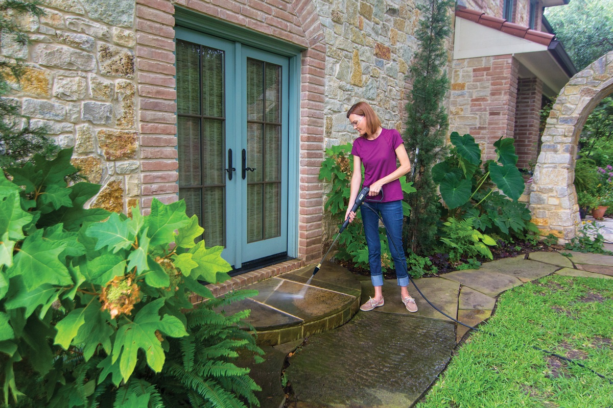 front entry pressure washing