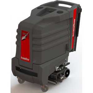 KleenRite 2240 Escalator Cleaning Machine The KleenRite 2240 is the first escalator cleaner to expand to clean any size escalator from 22 inches to 40 inches. No longer will facilities, contractors, hotels or department stores have to decide between buying a machine that requires labor to hold and operate it or a machine that is limited to one size unless you purchase additional heads.