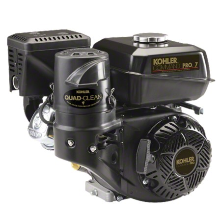 kohler 7hp command pro horizontal shaft single cylinder ch270 engine electric start