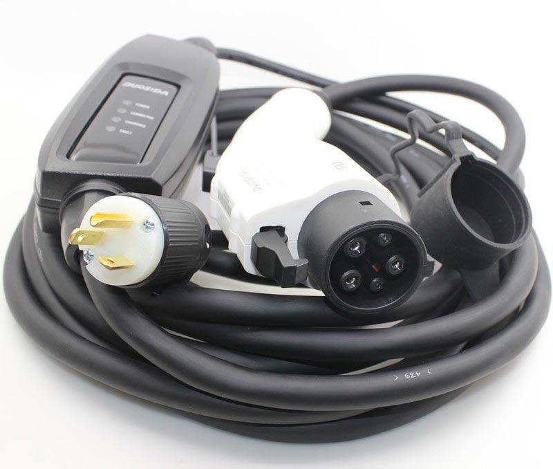 level 2 electric car charger 16 amp 240 volt plug in hybrid EV