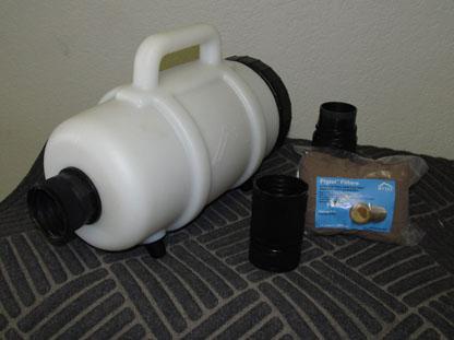 Mytee F250 Hose Mount Lint Dirt Debris Filter For Carpet