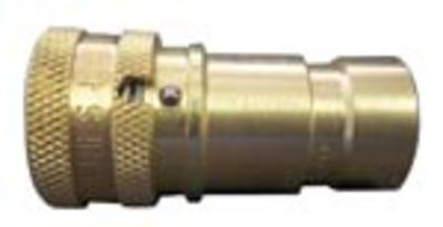 locking brass coupler QC QD