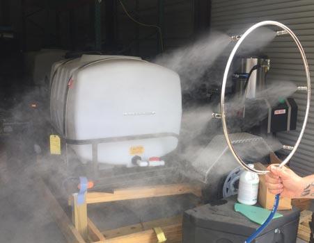 work shop misting system