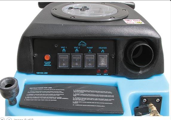 mytee 1001dx-200 control panel