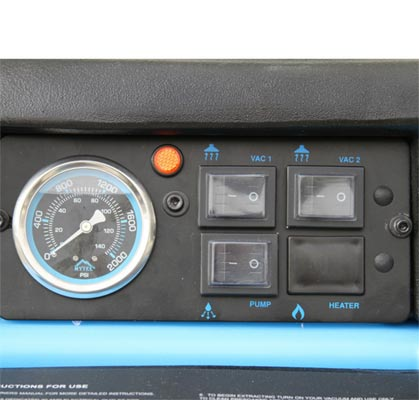 mytee 1005dx control panel