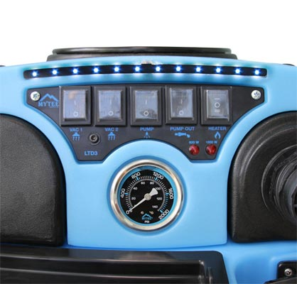 mytee speedster ltd3 control panel