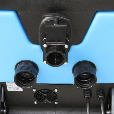 mytee 1001DX-200 rear end and drain system