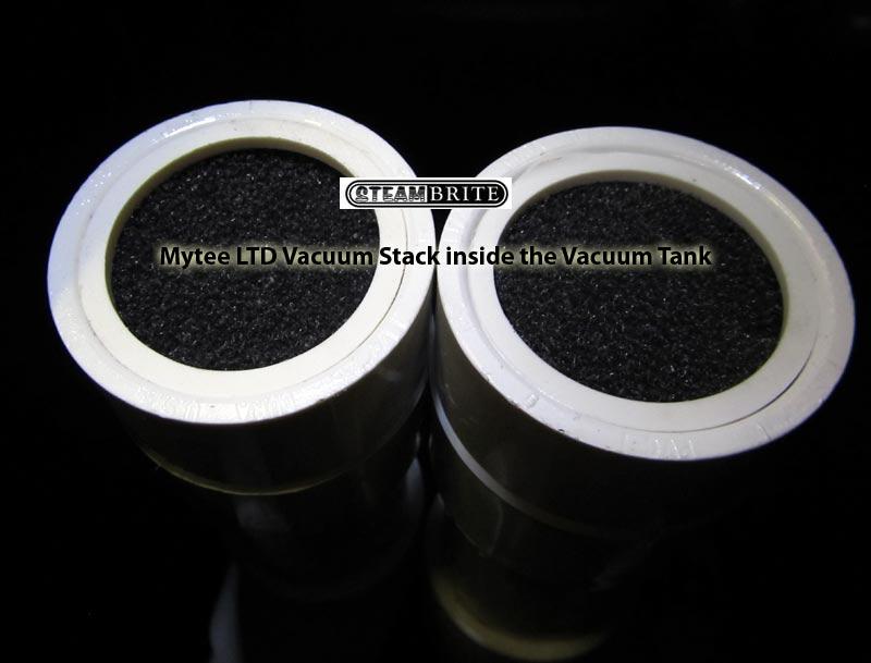 mytee ltd5 vacuum stack