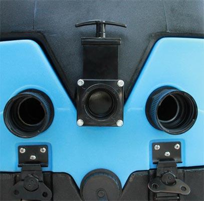 mytee LTD5 LTD12 rear panel drain system