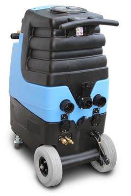 Mytee LTD12 carpet cleaning machine back side