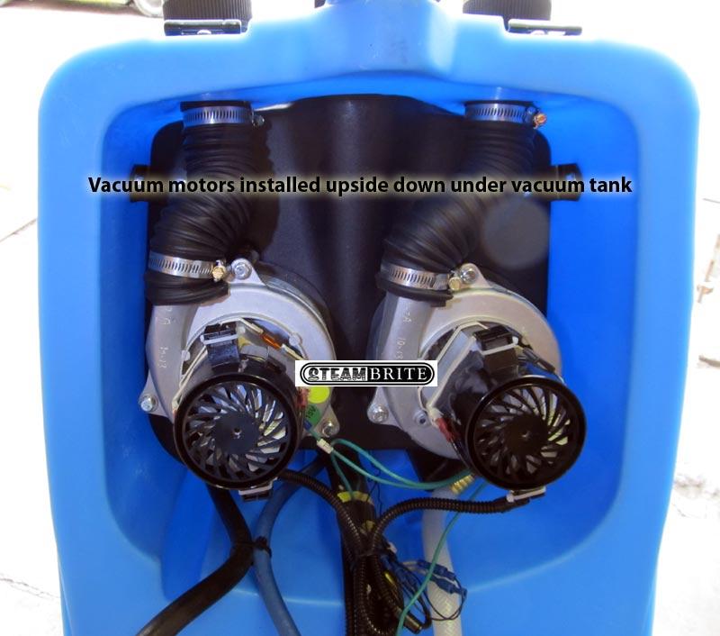 mytee ltd vacuum motor confuration