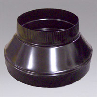 NIKRO 860126 duct cleaning intake reducer 12 inch to 8 inch