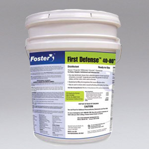 Nikro 860450  FOSTER FIRST DEFENSE 40-80 DISINFECTANT