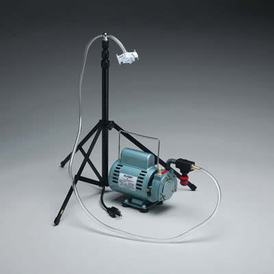 Nikro Air Sampling Pump With Stand 862142 Meters And