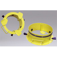 Nikro 860412 8 inch duct cleaning adapter rings