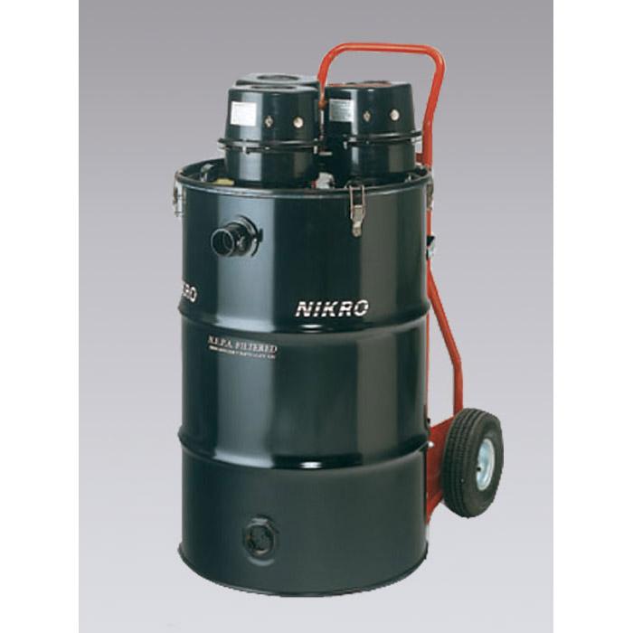 Nikro Hd55345 Tri Motor Hepa 55 Gallon Vacuum Dry Shop