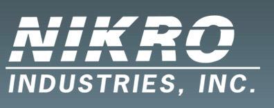 Nikro 861111 Pneumatic Rotary Brush & Blast System