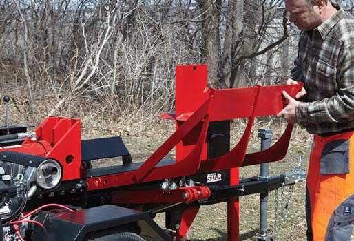 northern tools log splitter