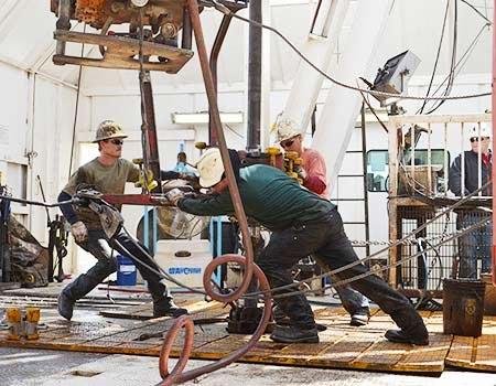 oil worker field cooling