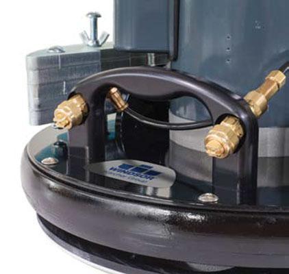 floor machine spray system