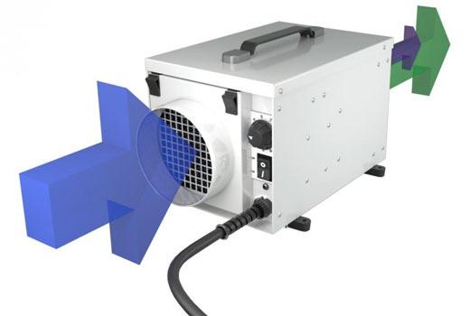 DH1200 desicant dehumidifier