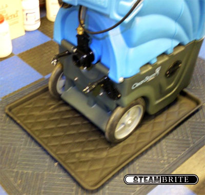 carpet cleaning work tray floor protection