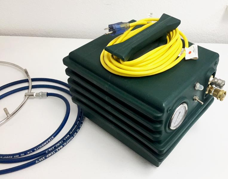 portable misting system high pressure pump