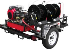 trhdcb5540hg pressure pro two pro trailer