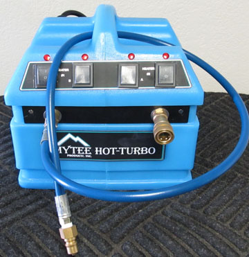 mytee heater 240-230v carpet cleaning heater