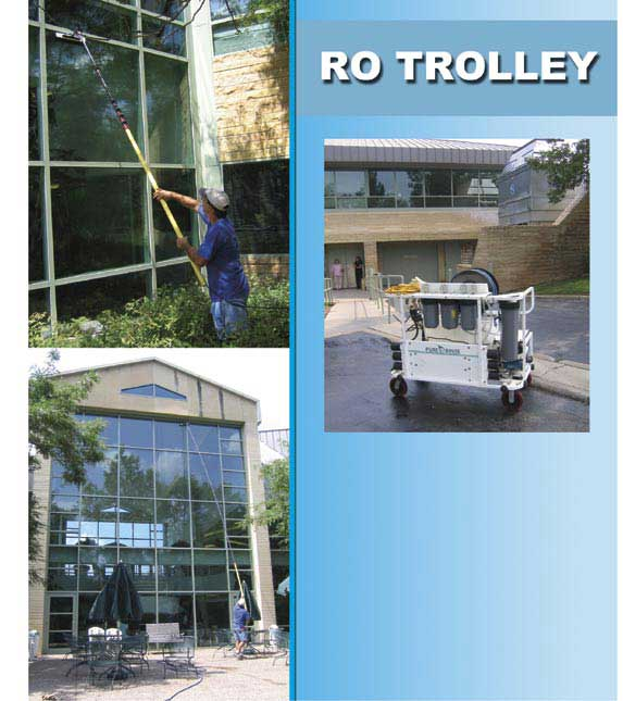 reverse osmosis window cleaning machine