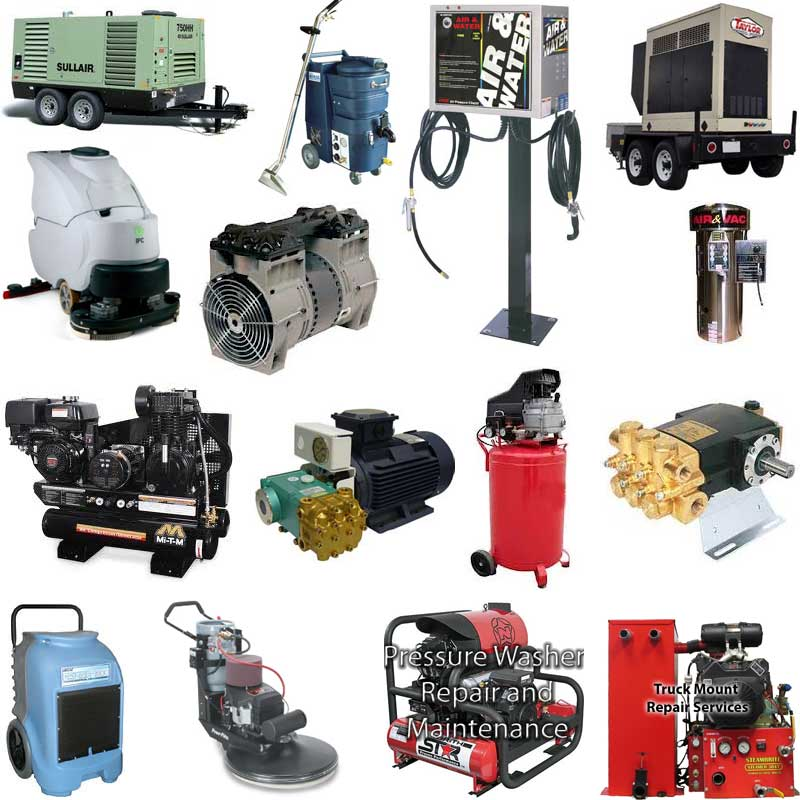general equipment repair company service San Antonio Texas