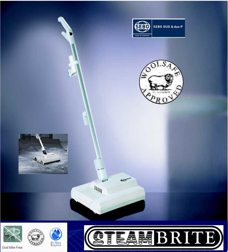Sebo Duo Brush Machine 9401am Dri Way Jr Encapsulation