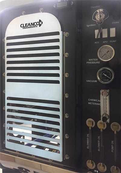 Cleanco truckmount slide in