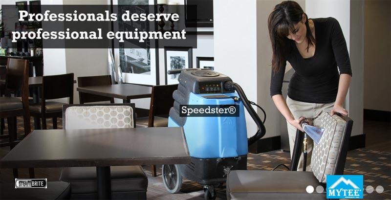 mytee speedster hotel furniture cleaning