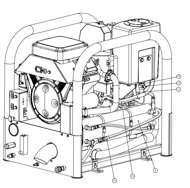 hydramaster heat exchanger 000-038-026
