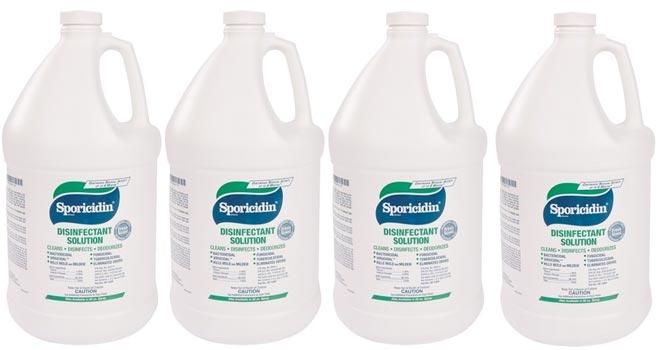 sporicidin case 4 gallons