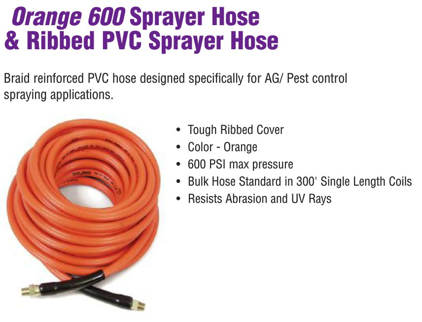 pest control and lawn spray hose