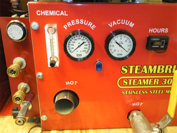 Steambrite Mfg Stainless Mount 3047 Dual Action 30hp