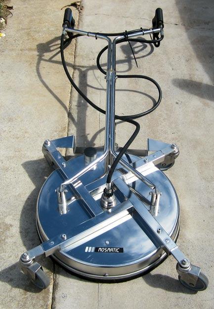 Mosmatic 80 787 rim guard ring fl ah kau 21 inch surface for Concrete cleaning machine