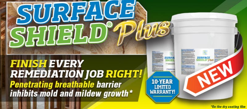 surface shield mold and mildew inhibitor