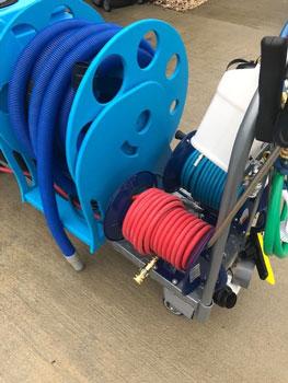 triple hose reel