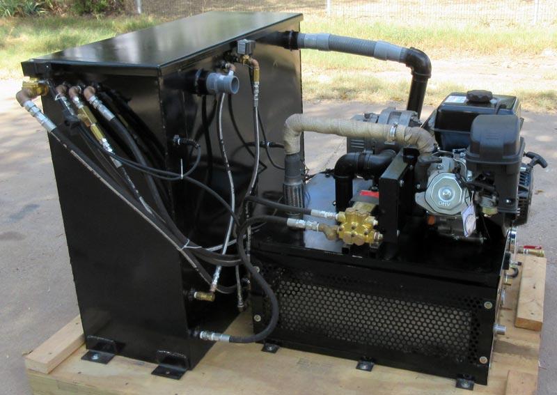 Truckmount 13hp Lifan 33 Blower 2000psi Tm1333l Profiteer