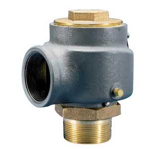 knuckle truckmount vacuum relief valve