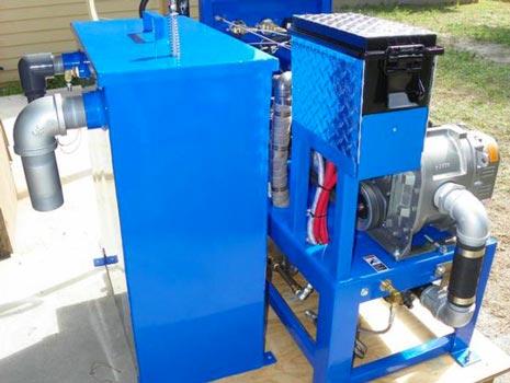 bluebaron truckmount compact 36 truck mount