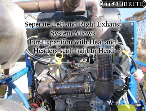 truckmount exhaust system
