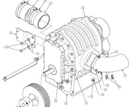 trilobe hydramaster blower