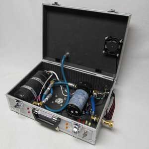 Clean Storm Hot Box Volcano 1800 Watt Heater With 220psi